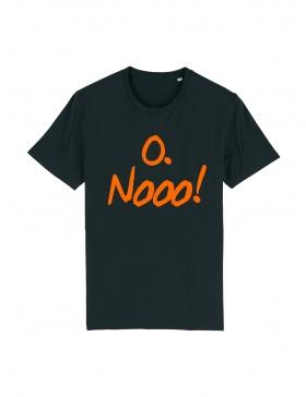 Tricou O. Nooo! Black