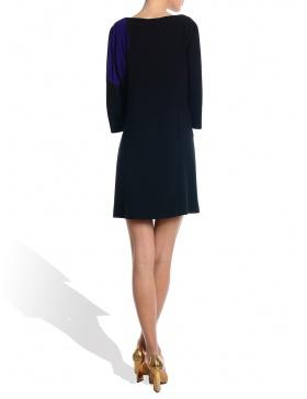 Rochie negru/ mov