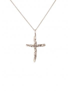 Pandantiv Small Karma Cross Gold/Silver