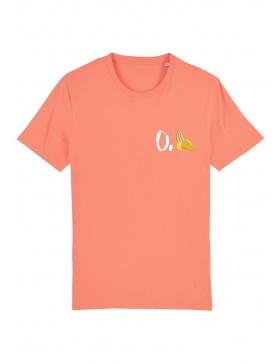 Tricou O. banana - scris alb