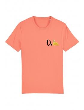 Tricou O. banana - scris negru