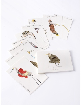 Set carti postale Fashion Birds  #5
