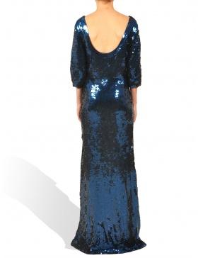 Rochie Simone albastra