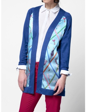CARDIGAN MATASE INTO THE BLUE