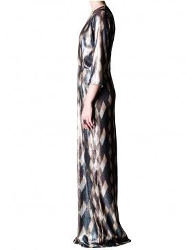 Rochie lunga cu paiete