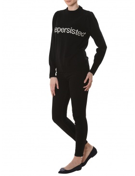 Bluza #shepersisted Black
