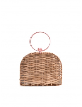 Gelato Wicker Bag Short