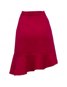 Solace Skirt Classic Red