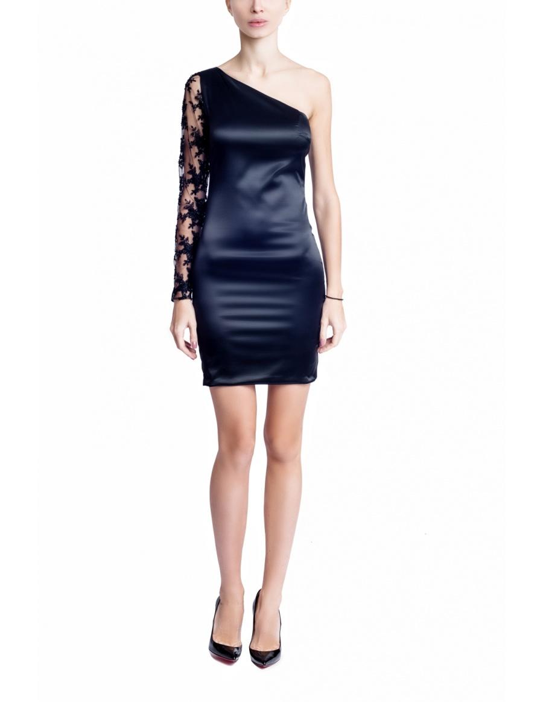 Soft one sleeve Dress