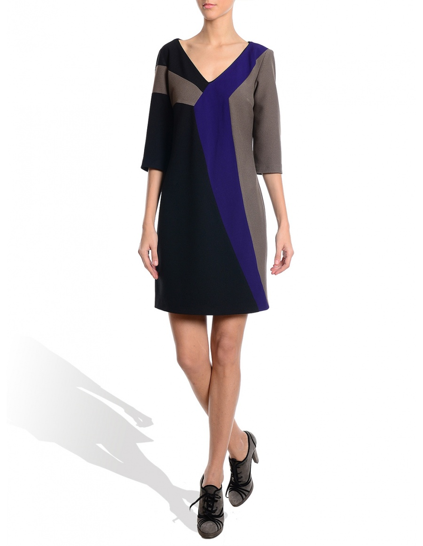 Rochie trei culori #1