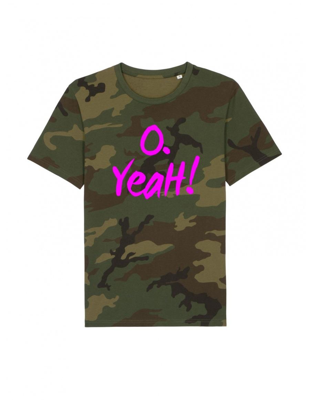 Tricou O. Yeah! Camuflaj