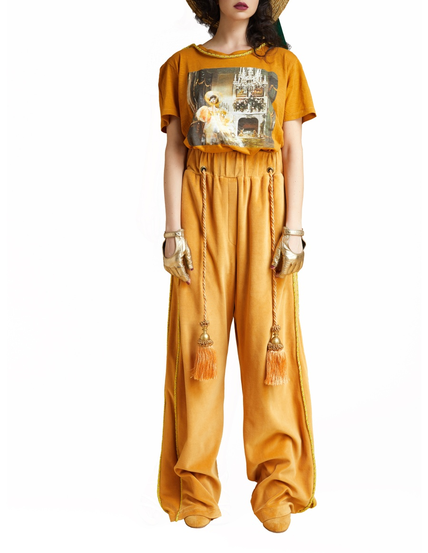 Pantaloni General aurii