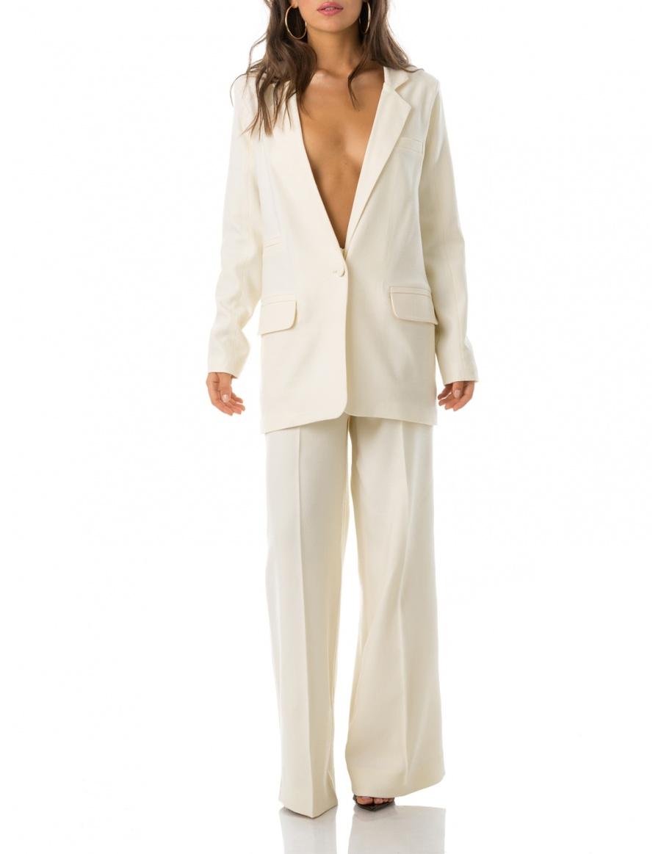 Costum Oversized Din Lana