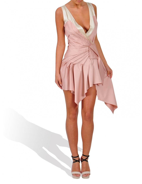 Rochie mini roz