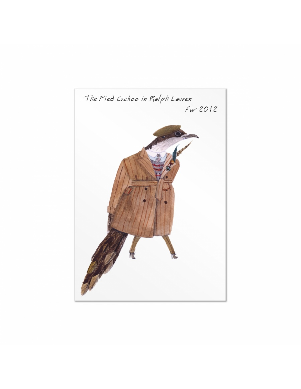 Set carti postale Fashion Birds  #4