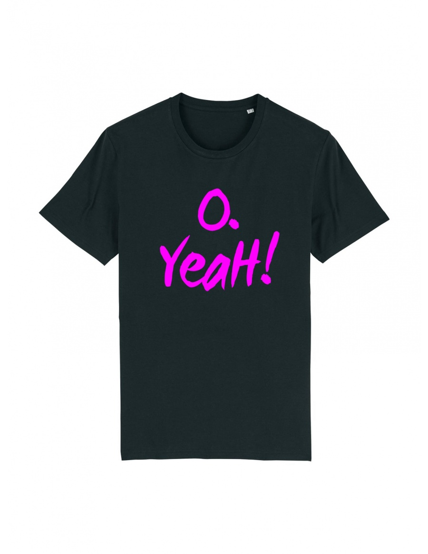 Tricou O. Yeah! Black