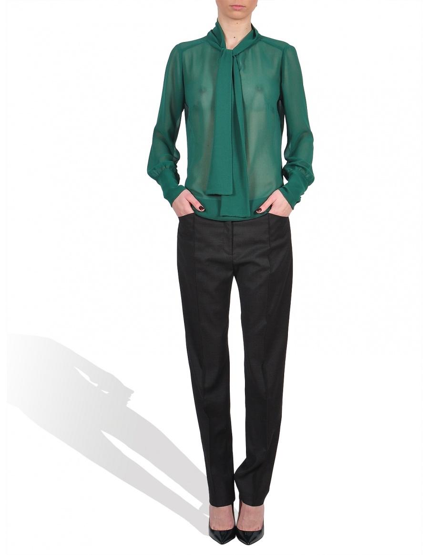 Bluza voal verde