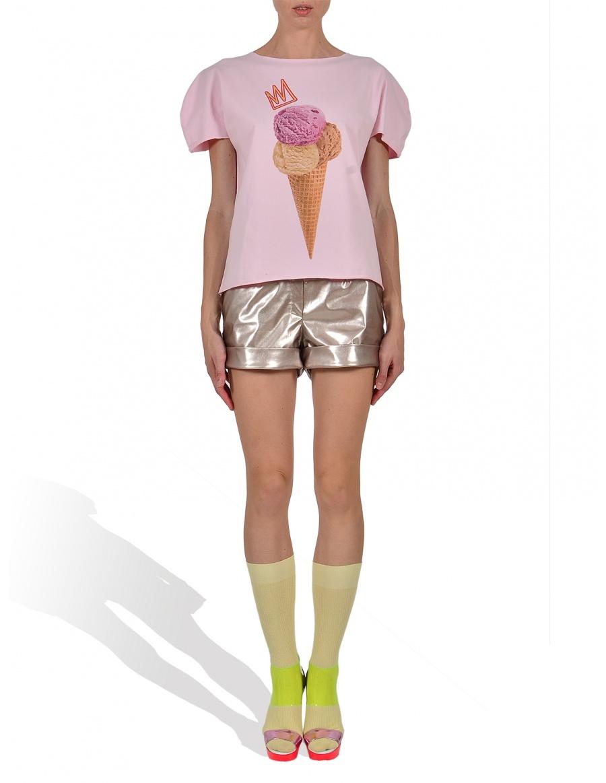 Tricou Royal IceCream in nuanta zmeura roz