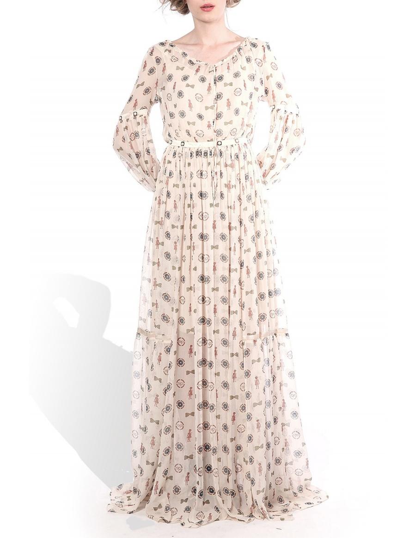 Rochie cu print unic