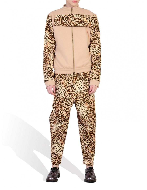 Jacheta print leopard