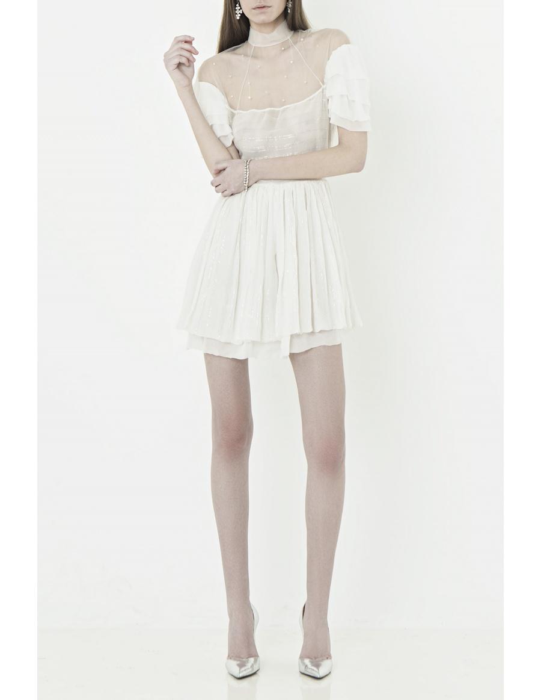 Rochie mini cu cristale Swarovski