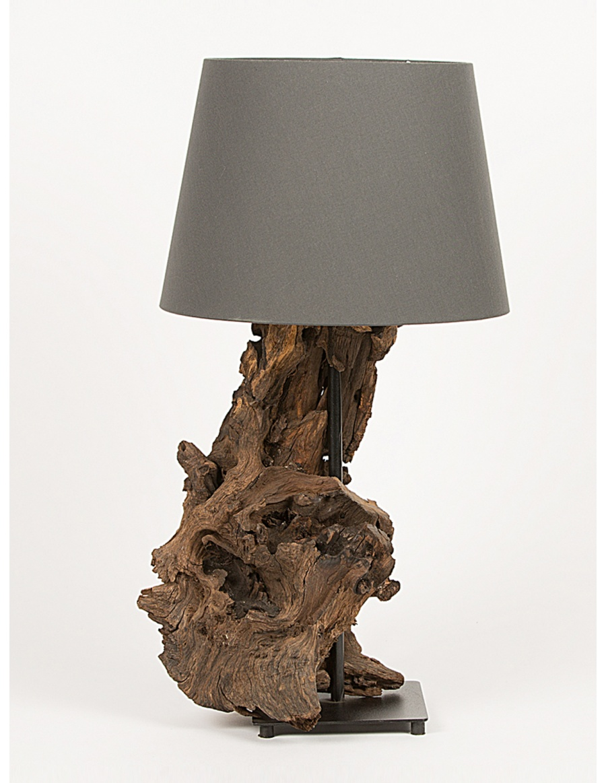 Veioza lemn driftwood