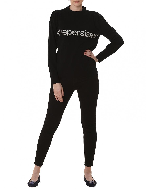 Bluza #shepersisted Black