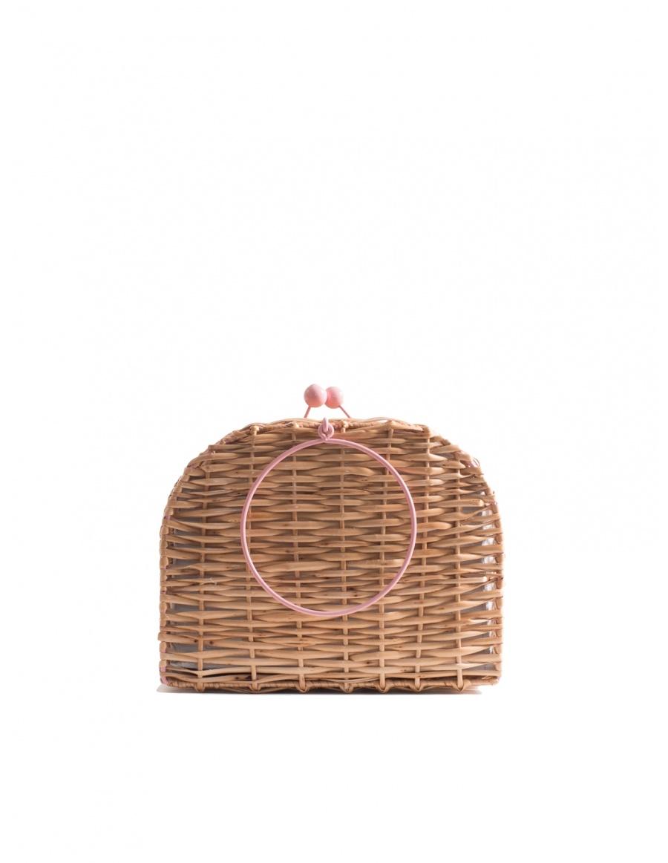 Gelato Wicker Bag Short