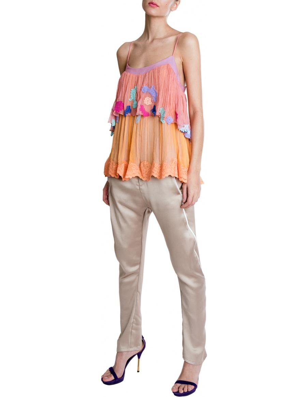 Pantaloni Maud Golden