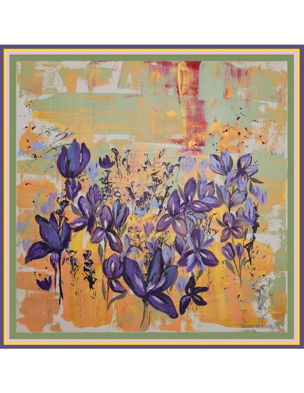 Esarfa Irises in the Field