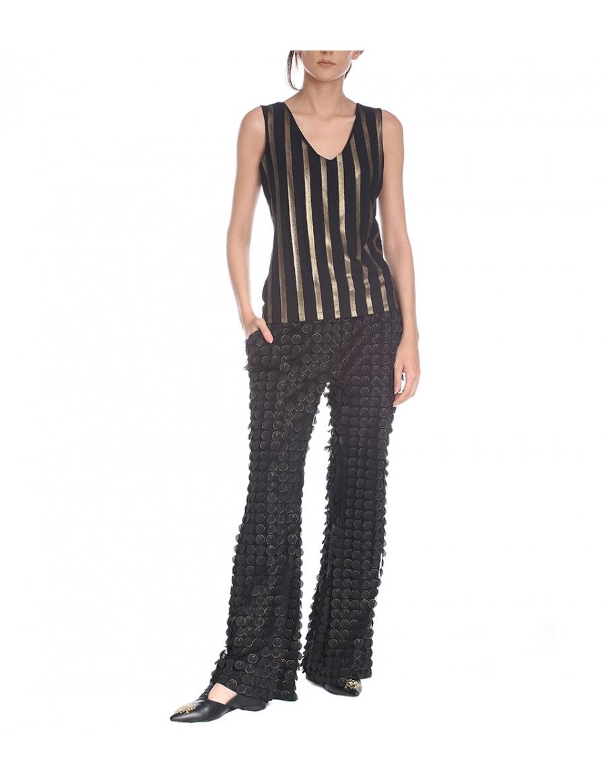 Pantaloni aplicatii 3D | Silvia Serban | Molecule F