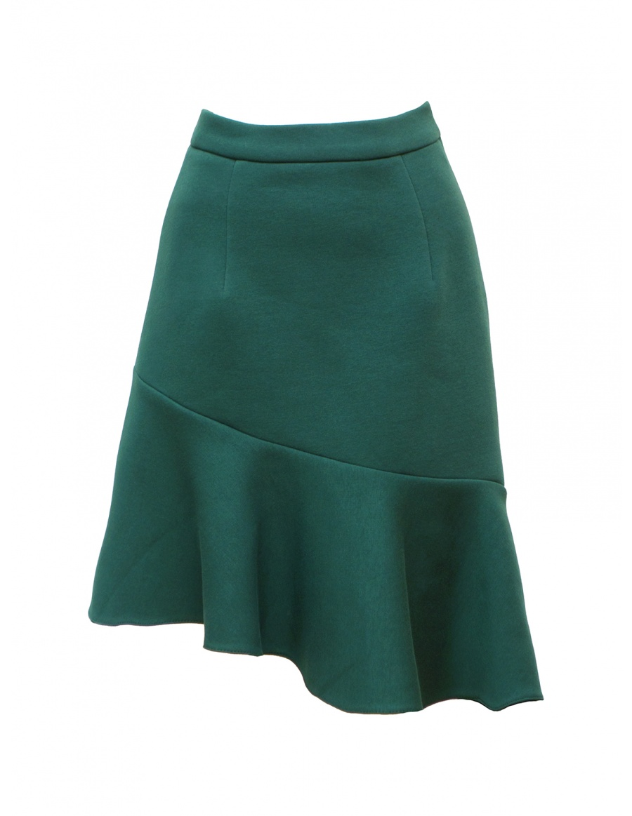 Solace Skirt Petroleum Green