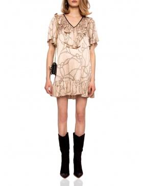 Rochie mini cu volane | Nissa