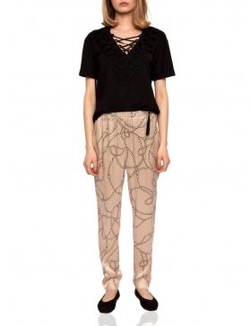 Pantaloni slim cu imprimeu | Nissa
