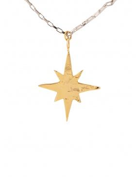 Pandantiv North Star Gold/Silver