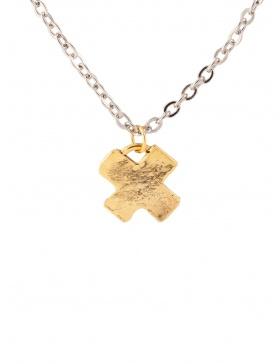 Pandantiv XOXO Gold/Silver