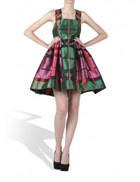 Rochie roz verde Candy Dress