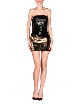 Rochie Tube Short Sequins