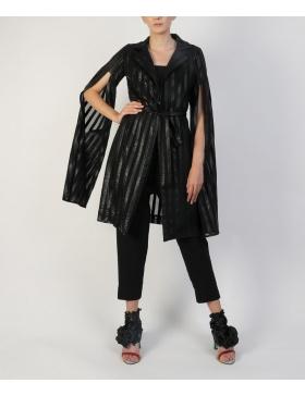 Rochie tip kimono texturata