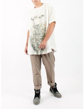 Tricou oversize unisex cu oaie desenata