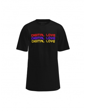 Tricou Purple Digital Love