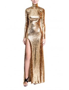 Gold Long Dress