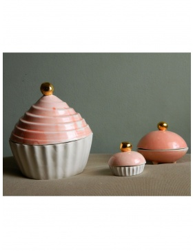 Set Pink Cupcakes'