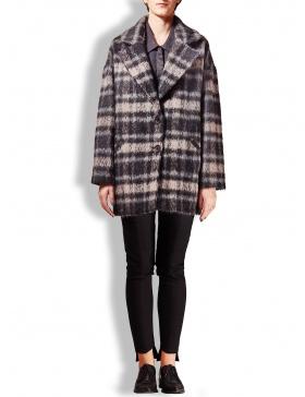 Palton carouri gri si negre LT