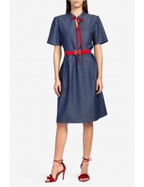 Rochie albastru- denim