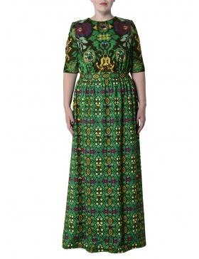 Rochie verde maxi