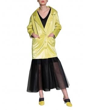 Rochie - jacheta cu aspect lucios | Silvia Serban