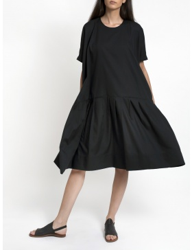 Rochie neagra larga