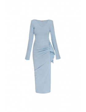 Rochie de zi albastra Rona