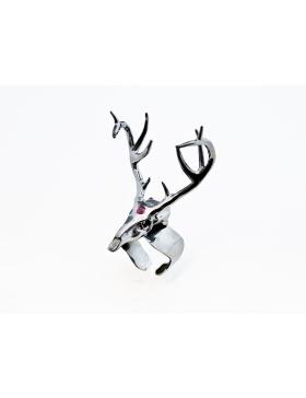 Inel Deer negru